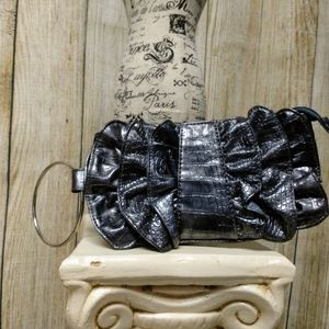Chateau Dark Grey Wristlet!